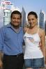 Our CEO Andree Ochoa and Hot Model Liliana Venegas