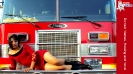 July + Red Dress and a Fire Truck - 1366 x 768 pixels_1